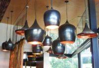 Lampu Gantung Ruang Makan Tembaga Unik