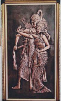 Lukisan Wayang Rama Shinta