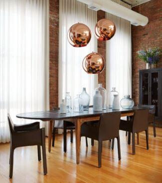 5 elemen wajib dekorasi ruang makan minimalis - bleecopper