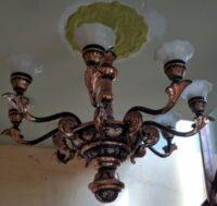 Lampu Gantung Masjid Minimalis Tembaga Murah