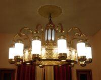 lampu Nabawi kuningan Minimalis