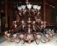 Jual Lampu Masjid Tembaga Mewah