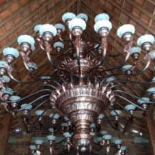 Jual Lampu Masjid Tembaga Unik Murah