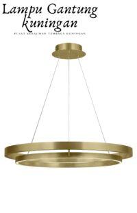 Jual Lampu Gantung Lingkaran Bahan Kuningan 2