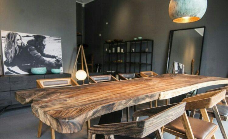 Desain Ruang Makan Ala Cafe