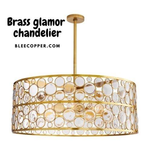 Lampu Gantung Kuningan Glamor