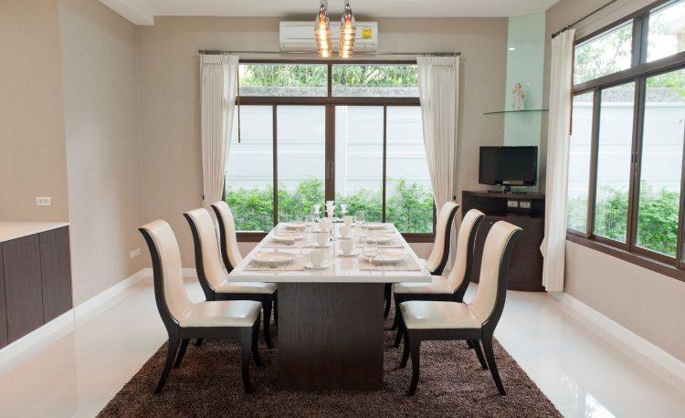 7 Ide Desain Ruang Makan Modern Cantik Dan Menawan