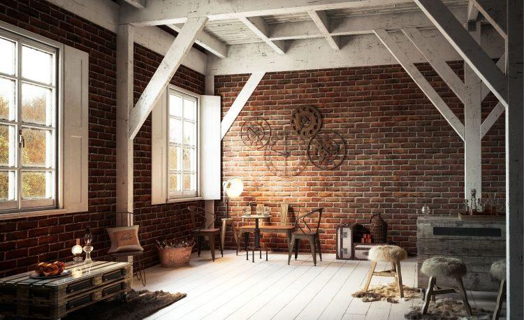 Ide Desain Interior Rustic Yang Harus Di Perhatikan 4
