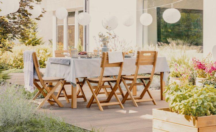 Ide Desain Ruang Makan Outdoor Mudah Dan Murah