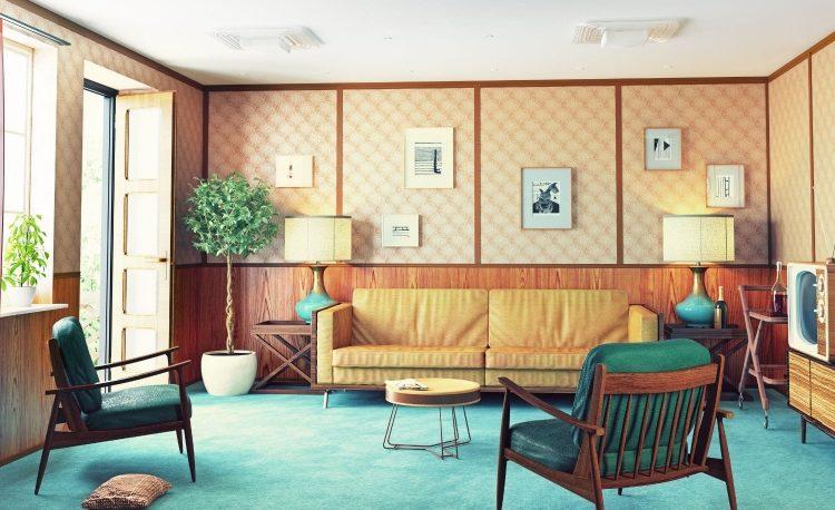Ide Desain Rumah Bergaya Retro Untuk Tampil Elegan 4