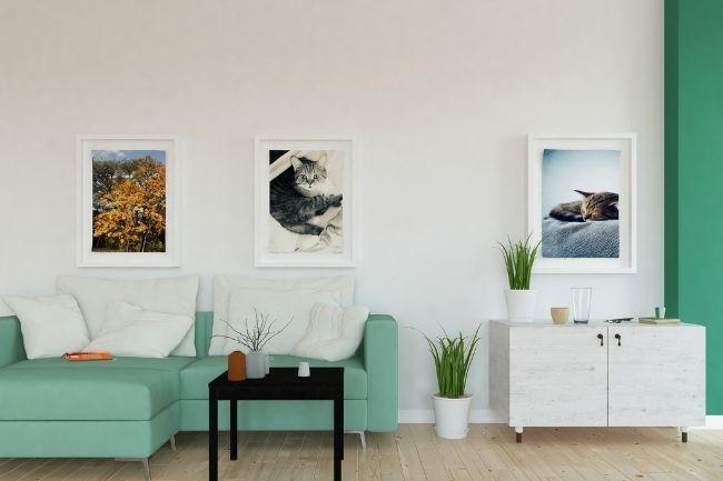 Konsep Desain Interior Scandinavian Dengan Tanaman Hias