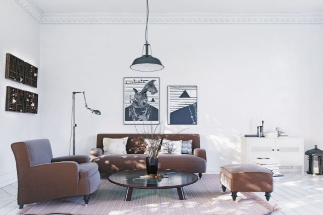 Konsep Desain Interior Scandinavian Dengan Nada Netral