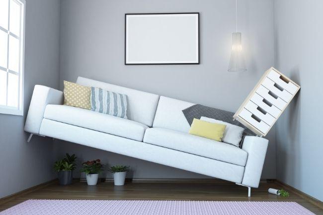 Optimasi furniture ruang tamu minimalis