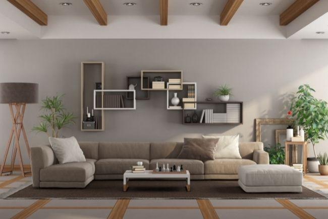 Penggunaan Warna Ruang Tamu Minimalis