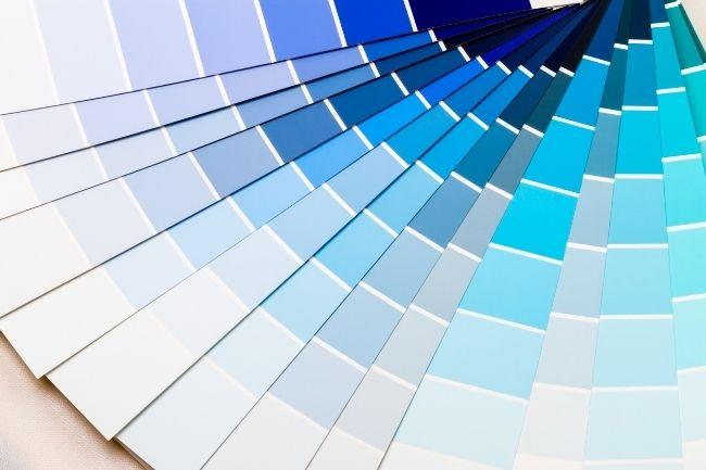 Psikologi Warna Cat Rumah Biru