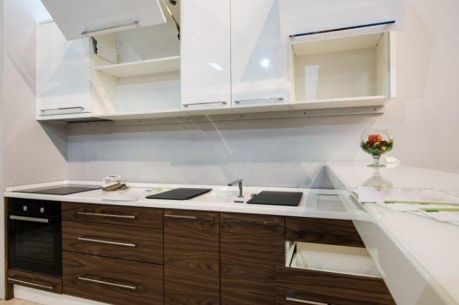 Dekorasi Dapur Minimalis Dnegan Fitur Penyimpanan Yang Memadai