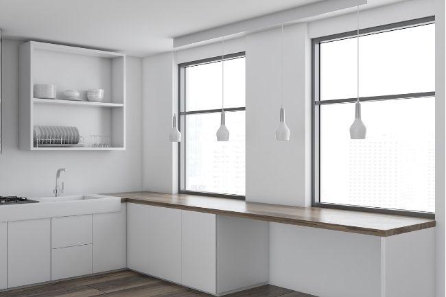 Dekorasi Dapur Minimalis Modern Dengan Nada Cerah