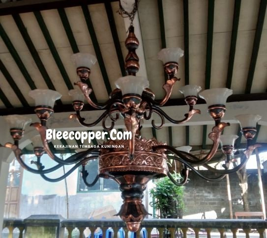Lampu Masjid Tembaga Tingkat 2