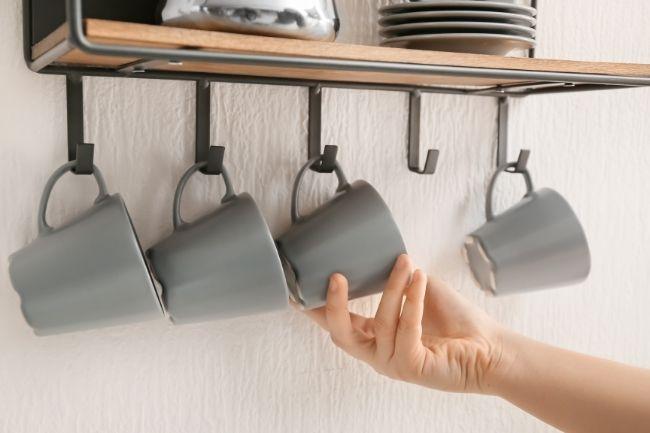 Rak Dekoratif Untuk Mengatur Dapur