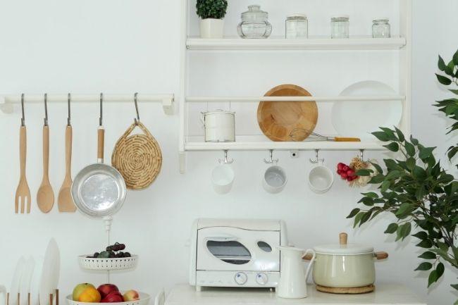Tata Letak Dapur Satu Dinding