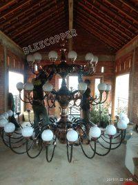 Lampu Hiasan Masjid Bohlam Bulat