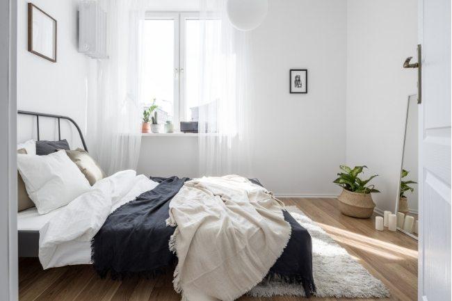 Nada Netral Untuk Dekorasi Kamar Tidur Kecil
