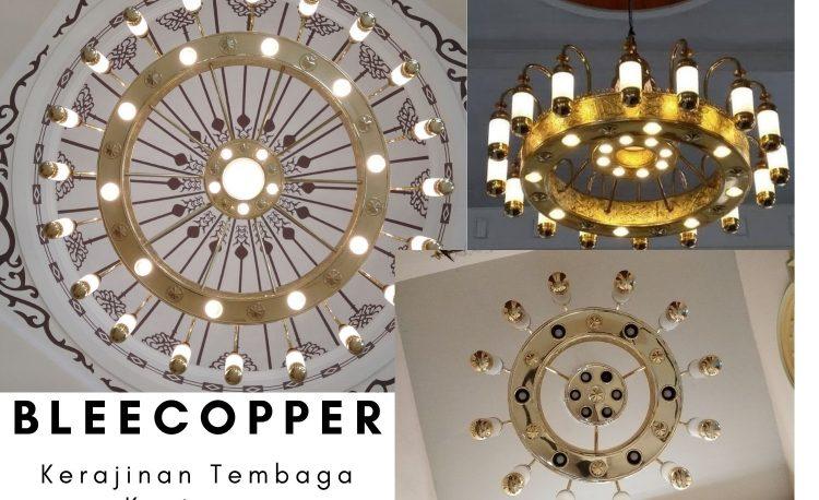 Replika Lampu Masjid Nabawi Kuningan