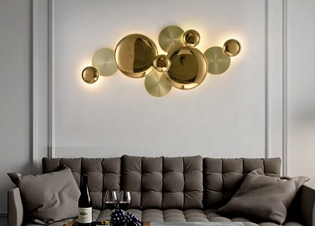Wall Art Lampu Untuk Hiasan Dinding Modern